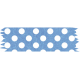 It's Elementary, My Dear- Blue Polka Dots Washi Tape