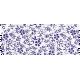 It's Elementary, My Dear- Purple Flowers Washi Tape