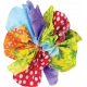 It's Elementary, My Dear- Multi-Color Fabric Flower 03