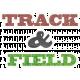 Track & Field Word Art