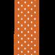 Reading, Writing, and Arithmetic- Orange Polka Dot Ribbon