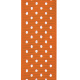 Reading, Writing, and Arithmetic- Orange Polka Dot Ribbon