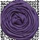 Thankful- Purple Rosette