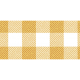 Yellow Gingham Washi Tape