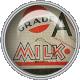 Vintage Milk Tab Brad