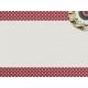 Red Polka Dot Journal Card
