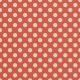 Grandma's Kitchen Orange Big Dots Paper