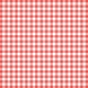 Grandma's Kitchen- Coral Gingham Paper