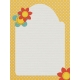 Grandma's Kitchen Felt Flower Journal Card