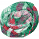 Winter Wonderland- Plaid Fabric Flower