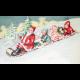 Winter Wonderland- Santa Postcard