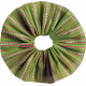 Tiny, But Mighty Green Accordion Fabric Flower
