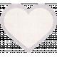 Be Mine- Purple Stitched Fabric Heart