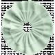 Be Mine- Mint Fabric flower