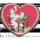 Be Mine- Vintage Valentine Card