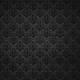 Be Mine- Black Damask Fabric