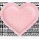 Be Mine- Pink Polka Dot Puffy Heart