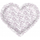 Be Mine- Purple Puffy Heart