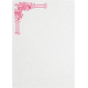 Tiny, But Mighty Pink Embellished Note Paper