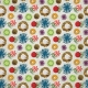 Christmas Memories- Fabric Flower Paper
