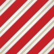 Christmas Memories- Red Large Stripe Paper