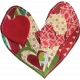Quilted With Love- Patchwork Heart 1