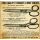 Quilted With Love - Vintage Shears Advertisement