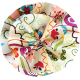 Floral Pattern Fabric Flower 03