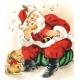 Christmas Memories Santa Card
