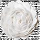 Christmas Memories Ric Rac Flower- White