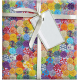 Quilted With Love- Vintage Rainbow YoYo Fat Quarter