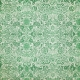 Green Floral Fabric Paper