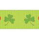 The Lucky One- Green Shamrock Ribbon