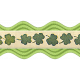 The Lucky One- Green Ric Rac Ribbon