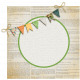 The Lucky One- Bunting Sticker
