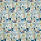 Quilted With Love- Modern Blue Patchwork Quilt Paper 2