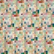 Quilted With Love- Modern Rainbow Patchwork Quilt Paper