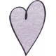 Earth Day- Lavendar Cardstock Heart