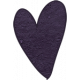 Earth Day- Purple Cardstock Heart