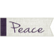 Earth Day- Peace Word Art