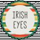 Irish Eyes Word Art