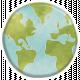 Earth Day Globe Sticker
