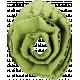 Green Cardboard Flower