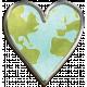Globe Heart- Shadowed
