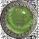 The Lucky One- Green Glitter Shamrock Brad