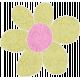 Lime Cardstock Flower