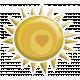 Sunshine and Lemons- Sun Sticker