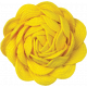 Sunshine and Lemons- Yellow Ric Rac Flower