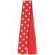 One Stop Bunting Shop- Red Polka Dot Folded Ribbon