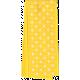 One Stop Bunting Shop- Yellow Polka Dot Folded Ribbon